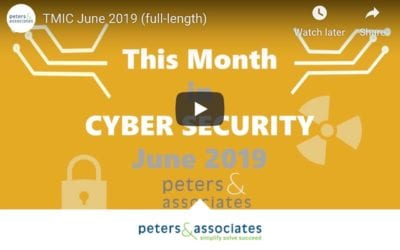 This Month in Cyber Security: June 2019 (2:33)