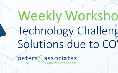 Weekly Workshop – Technology Challenges and Solutions arising due to Coronavirus