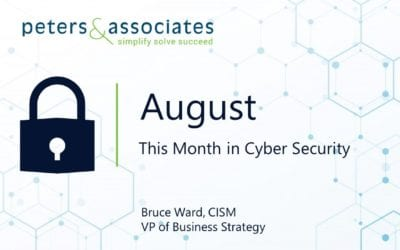 This Month in Cyber Security: August 2020 (2:08)