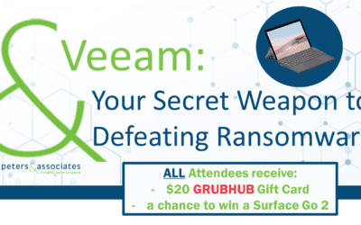 Veeam: Your Secret Weapon to Defeating Ransomware