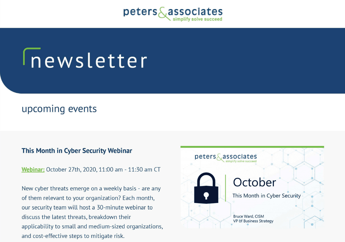 Peters Newsletter – 1104 X 774