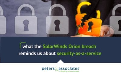 What the Solarwinds Orion Breach Reminds Us About Security as a Service