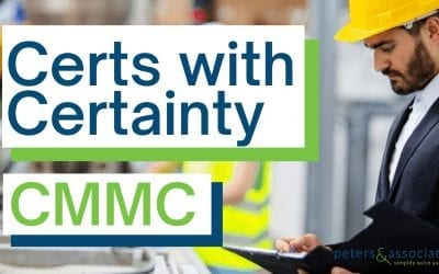 Certs with Certainty: CMMC