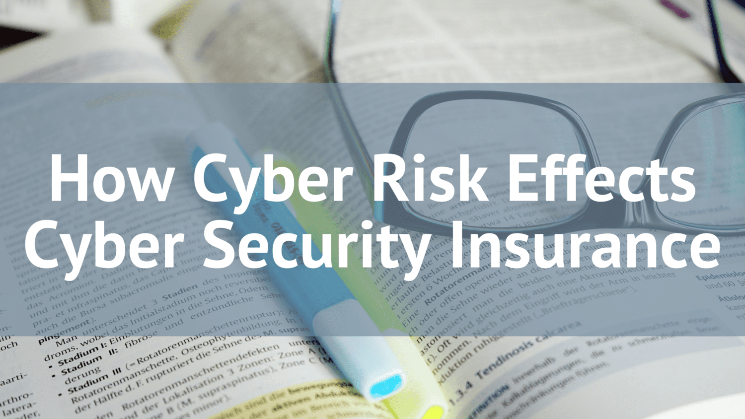 How Cyber Risk Effects Cyber Security Insurance