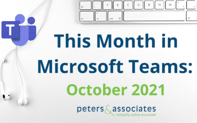 This Month in Microsoft Teams: Oct 2021